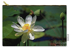Lotus Blossom Carry-all Pouch by Paul Mashburn