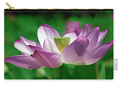 Carry-all Pouch featuring the photograph Lotus--center Of Being Vi Dl0086 by Gerry Gantt