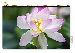 Carry-all Pouch featuring the photograph Lotus by Edward Kreis