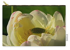 Carry-all Pouch featuring the photograph Lotus Flower 4 by Buddy Scott