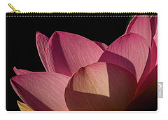 Carry-all Pouch featuring the photograph Lotus Flower 5 by Buddy Scott