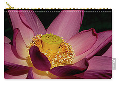 Carry-all Pouch featuring the photograph Lotus Flower 6 by Buddy Scott