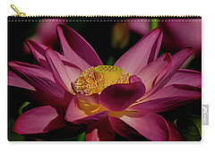Carry-all Pouch featuring the photograph Lotus Flower 7 by Buddy Scott