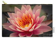 Lotus Flower Carry-all Pouch by Ana V Ramirez