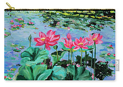 Lotus Carry-all Pouch by Alexandra Maria Ethlyn Cheshire