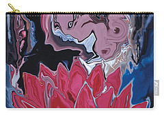 Lotus Love Carry-all Pouch by Rabi Khan