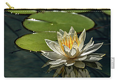 Lotus Carry-all Pouch by Martina Thompson