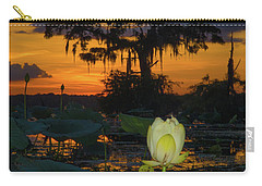 Lotus On Da Bayou Carry-all Pouch