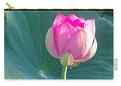 Lotus Pink Carry-all Pouch