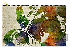 Louis Armstrong Watercolor Carry-all Pouch
