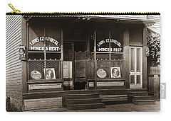 Louis Czarniecki Miners Rest 209 George Ave Parsons Pennsylvania Carry-all Pouch
