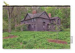 Louisa May Alcotts Orchard House Concord Massachusetts Carry-all Pouch