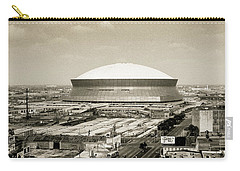 Carry-all Pouch featuring the photograph Louisiana Superdome by KG Thienemann