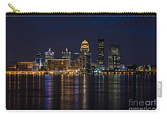 Carry-all Pouch featuring the photograph Louisville Skyline by Andrea Silies