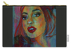 Lourdes At Twilight Carry-all Pouch by P J Lewis