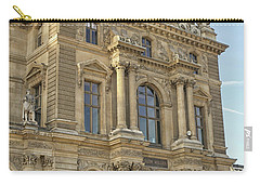Louvre In Paris Carry-all Pouch