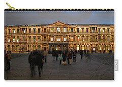 Carry-all Pouch featuring the photograph Louvre Palace, Cour Carree by Mark Czerniec