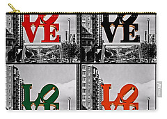 Carry-all Pouch featuring the photograph Love 4 All by DJ Florek