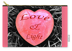 Love And Light Carry-all Pouch by Hazy Apple
