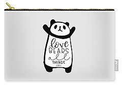 Love Bears All Things Carry-all Pouch