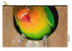 Carry-all Pouch featuring the photograph Love Bird by Sean Griffin