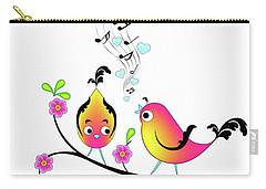 Love Bird Serenade Carry-all Pouch