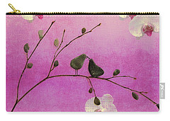 Love Birds Carry-all Pouch by Andrea Kollo