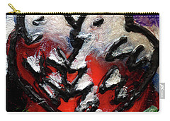 Carry-all Pouch featuring the painting Love Birds by Genevieve Esson