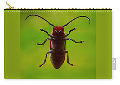 Carry-all Pouch featuring the photograph Love Bug by Danielle R T Haney