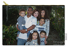 Carry-all Pouch featuring the photograph Love Demonstrated 2 James Ingram Family Art by Reid Callaway