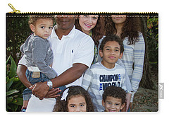 Carry-all Pouch featuring the photograph Love Demonstrated James Ingram Family Art by Reid Callaway