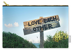 Love Each Other Carry-all Pouch