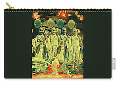 Love In The Age Of War Carry-all Pouch by Vennie Kocsis
