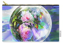 Love Is All Around Carry-all Pouch