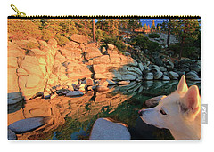Carry-all Pouch featuring the photograph Love Is All Around by Sean Sarsfield