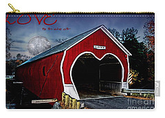 Carry-all Pouch featuring the photograph Love Is In The Air by DJ Florek