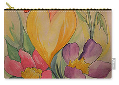 Love Is In The Air Carry-all Pouch by Maria Urso
