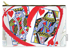 Love Is In The Cards Carry-all Pouch by Seth Weaver