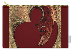 Carry-all Pouch featuring the digital art Love Is... by Paula Ayers