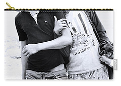 Carry-all Pouch featuring the photograph Love Is Us  by Jez C Self