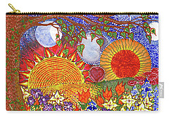 Carry-all Pouch featuring the painting  Because Love Lasts For Eternity #2 by Kym Nicolas