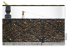 Love Locks Bridge Ile De Cite Paris Carry-all Pouch