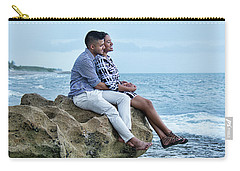 Love On The Rocks Carry-all Pouch