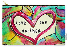 Love One Another John 13 34 Carry-all Pouch
