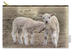 Carry-all Pouch featuring the photograph Love One Another by Robin-Lee Vieira