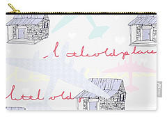 Love Shack Carry-all Pouch by Beth Travers
