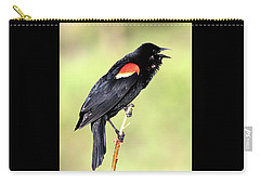 Carry-all Pouch featuring the photograph Love Song by Shane Bechler