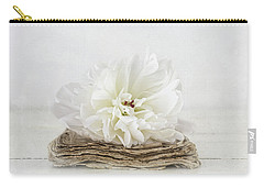 Carry-all Pouch featuring the photograph Love Story by Kim Hojnacki
