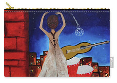 Love To Dance 002 By Saribelle Rodriguez Carry-all Pouch
