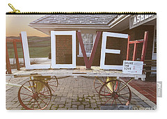 Love Train  Carry-all Pouch by Melissa Messick